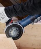 cómo cortar madera con amoladora